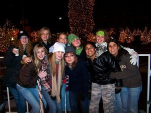 Stacey and I (as volunteers) with our LifeGroup from last year. I absolutely love them!!
